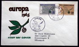 Turkey 1965  EUROPA   MiNr.1961-62  FDC  ( Lot 291 ) - 1921-... Repubblica