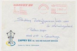 Meter Cover Netherlands 1981 Oil - Gasfield Services - Derrick - Schoonebeek - Sciences