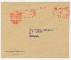 Meter Cover Netherlands 1948 Esso - Oil - Sciences