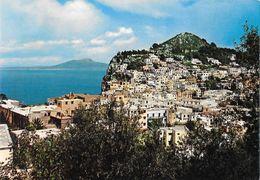 Capri. Panorama E Vesuvio.  Non Viaggiata - Italy