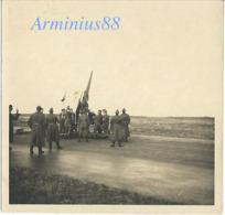 Défense Antiaérienne Allemande - Wehrmacht - Luftwaffe - Flak-Abteilung - Flak-Stellung - 8,8-cm-FlaK 18 - Guerra, Militari