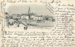 CPA 85 Vendée St Saint Gilles Sur Vie - Le Pont - Précurseur - 1902 - Saint Gilles Croix De Vie