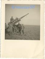Belgique - Fort De Maizeret - Namur, Andenne - Wehrmacht - Luftwaffe - Flak-Abteilung - Flak-Stellung - 8,8-cm-FlaK 18 - Guerra, Militari