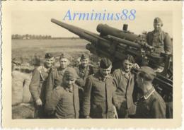 Côtes Françaises - Défense Antiaérienne Allemande - Wehrmacht - Luftwaffe - Flak-Abteilung - Flak-Stellung - 8,8-cm-FlaK - Guerra, Militari