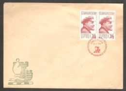 Czechoslovakia 1970 Banska Bystrica - RED Chess Cancel On Envelope - Scacchi