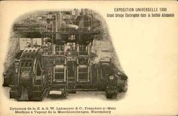 EXPOSITIONS - Carte Postale - Exposition Universelle De 1900 - Groupe Électrogène  - L 67301 - Exhibitions