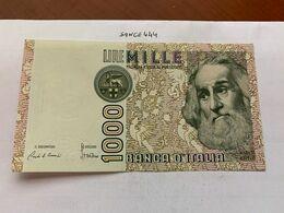 Italy Marco Polo 1000 Lire Uncirc. Banknote 1982 #27 - [ 1] …-1946 : Regno