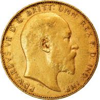 Monnaie, Australie, Edward VII, Sovereign, 1907, Perth, TTB, Or, KM:15 - South Australia