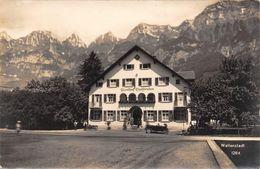Wallenstadt Gasthof Kurfirsten  Burkhardt Karte - SG St. Gall