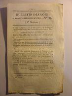 BULLETIN DES LOIS De 1832 - MEDAILLE DE JUILLET - FINISTERE - MARINE - CALVADOS - Decrees & Laws