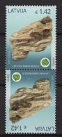Latvia (2018) - Pair - / Minerals - Mineraux - Minerales - Mineralien