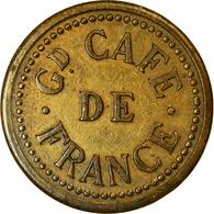 Monnaie, France, Grand Café De France, Atelier Incertain, 90 Centimes, TTB - Monétaires / De Nécessité