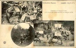 LAOS - Carte Postale - Différents Moyens De Locomotion Au Laos - L 67307 - Laos