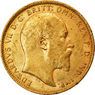Monnaie, Australie, Edward VII, Sovereign, 1905, Sydney, TTB+, Or, KM:15 - New South Wales