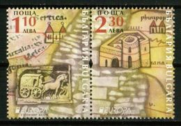 Europa CEPT 2020 BULGARIA Ancient Postal Routes - Fine Set MNH - Unused Stamps