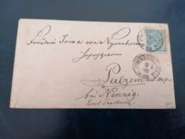 Luxemburg * Luxembourg * 1882  Brief Nach Palzem / Nennig An Der Mosel MI 43 Yt 45 - 1859-1880 Wappen & Heraldik