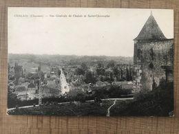 CHALAIS Vue Générale De Chalais Et Saint Christophe - Otros Municipios