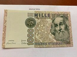 Italy Marco Polo 1000 Lire Uncirc. Banknote 1982 #28 - [ 1] …-1946 : Regno