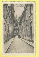 * Brugge - Bruges (West Vlaanderen) * (PIB - P.I.B.) Rue De L'ane Aveugle, Blinde Ezelstraat, Animée, Rare - Brugge