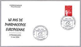 40 AÑOS FARMACOPEA EUROPEA - 40 Ans Pharmacopee Europeenne. Strasbourg 2004 - Pharmacy