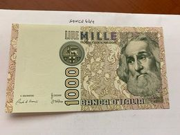Italy Marco Polo 1000 Lire Uncirc. Banknote 1982 #29 - [ 1] …-1946 : Regno