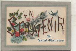 CPA - (91) SAINT-MAURICE - Un Souvenir De ... Des Années 20 - Autres Communes