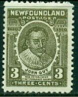 "-NewFoundland-1908- ""John Guy""  MH * - 1908-1947"