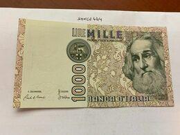 Italy Marco Polo 1000 Lire Uncirc. Banknote 1982 #30 - [ 1] …-1946 : Regno
