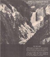 YELLOWSTONE - PARK, WYOMING - MONTANA - IDAHO (CARTES INCLUSES De La RÉGION) - 1959. - Esplorazioni/Viaggi