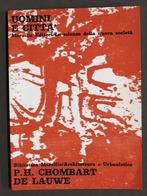 Urbanistica - Paul-Henry Chombart De Lauwe - Uomini E Città - Ed. 1976 - Bücher, Zeitschriften, Comics