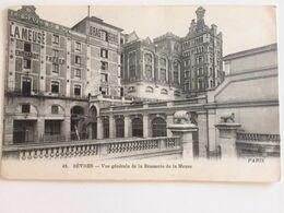 Oude Postkaart Dd 27/10/1917 Postkaart Van Frontsoldaat Maurice De Corte Aan Zijn Zussen In Sèvres Les Enfants De L'Yser - Sevres