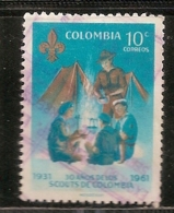 COLOMBIE OBLITERE - Colombie