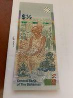 Bahamas 1/2 Dollar Uncirc. Banknote 2000 #2 - Bahamas