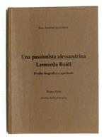 M. Anselmi - Una Passionista Alessandrina - Leonarda Boidi - Profilo - 2003 - Bücher, Zeitschriften, Comics