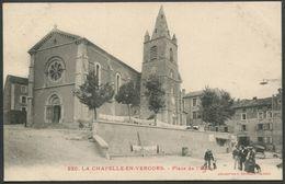 La Chapelle-en-Vercors - Place De L'Eglise - Collection P. Peyrouze N° 220 - Voir 2 Scans - Other Municipalities