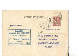 Carte  Commerciale 1941 / 71 FRONTENAUD / RUAN-FOURNIER / Fabricant Spécialités Eaux De Cologne Et Parfumerie - France