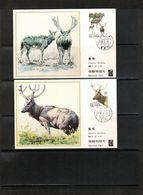 China 1988 Animals Maximumcards - Game