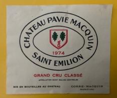 15546 - Château Pavie Macquin 1974 Saint-Emilion - Bordeaux