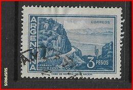 ARGENTINA   1959/1971  Proceres Y Riquezas Nacionales    Catamarca. Cuesta De ZapataCatamarca. Cuesta De Zapata USED - Argentine