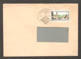 DDR 1968 Borstendorf - Chess Cancel On Envelope, Traveled - Scacchi
