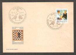 DDR 1973 Glauchau - Chess Cancel On Commemorative Envelope - Scacchi
