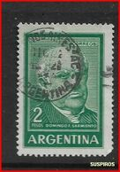 ARGENTINA   1959/1971  Proceres Y Riquezas Nacionales     MANUEL BELGRANO  GJ 1135    USED - Argentine