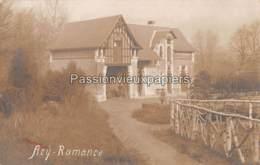 CARTE PHOTO ALLEMANDE ACY ROMANCE 1916 PARC De La GARENNE VILLA Du DOCTEUR MEUGY - Other Municipalities