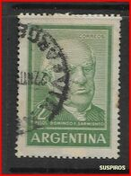 ARGENTINA   1959/1971  Proceres Y Riquezas Nacionales     MANUEL BELGRANO  GJ 1136   USED - Argentine