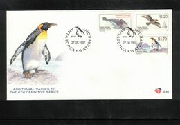 South Africa 1997 Antarctica Animals FDC - Antarctic Wildlife