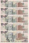 Billet Mexique 2000 Pesos 1989, Pick 86, TTB+ VF+, Pli Central - Mexico