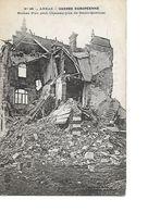62 ARRAS Cpa Ruines D'un Petit Chateau Rue De Saint Quentin - Arras