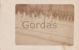 Romania - Brasov - 10 Mai 1926 - Defilare A Scolii De Fete Sasesti - Military - Romania