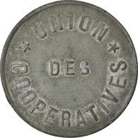 Monnaie, France, Union Des Coopératives, Paris, 5 Centimes, TTB, Zinc - Monétaires / De Nécessité