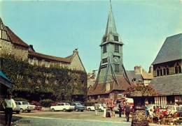 Automobiles - Voitures De Tourisme - Honfleur - La Place Sainte-Catherine Et Son Marché Fleuri - CPM - Carte Neuve - Voi - PKW